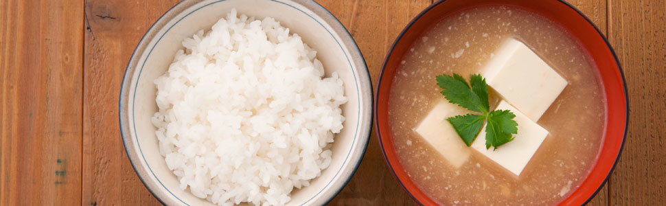 Miso soup banner