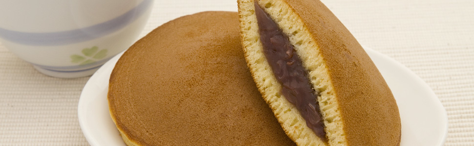 Online category banner dorayaki