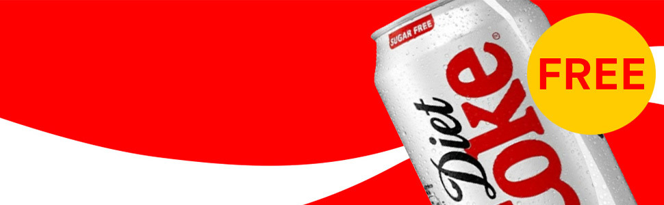 Free diet coca cola 970x300