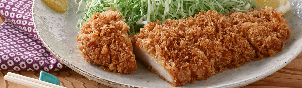 Japanese panko bread crumbs