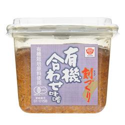 Masuyamiso organic barley rice awase miso front