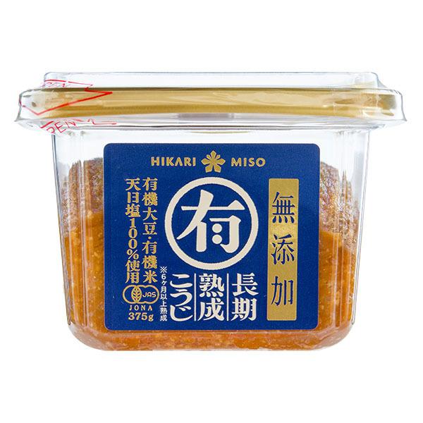 Hikari maruyu additive free koji miso front