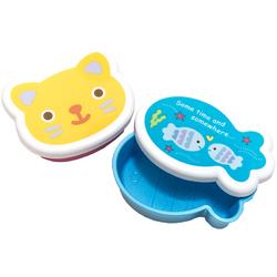 10496 cat fish mini bento open