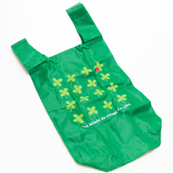 10503 eco bag green clover open