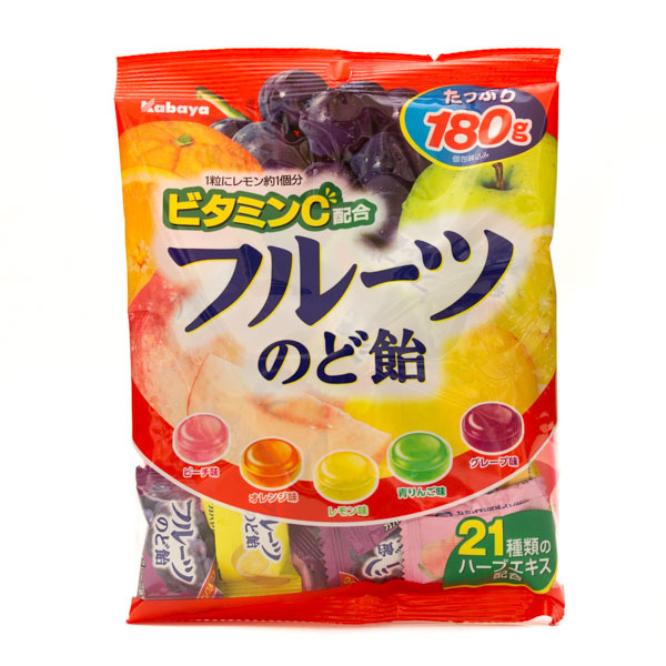 10678 kabaya fruit boiled sweets