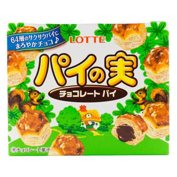 Lotte Chocolate Cream Pie Biscuits, 73 g - Japan Centre ...