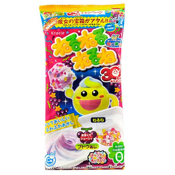 11354 kracie soft grape candy kit