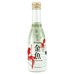 11403 kasumitsuru kingyo sparkling nigori sake