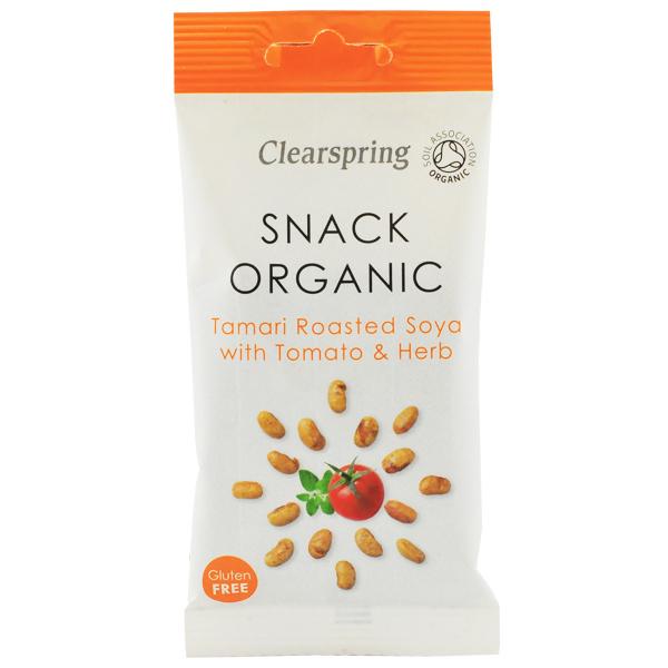 Clearspring tamari tomato oregano soy snack