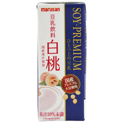 12126 white peach premium soy milk