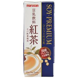 12127 premium black tea soy milk