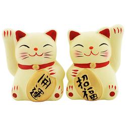 11870 lucky cat ceramic figurines