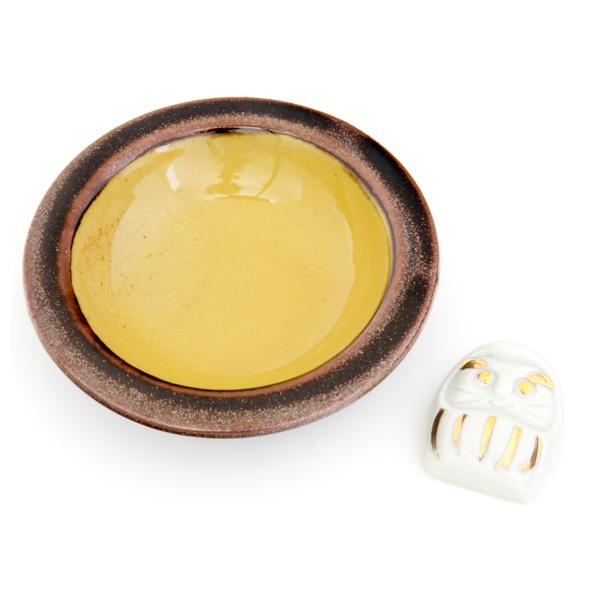 11920 ceramic side dish chopsticks rest set daruma
