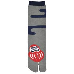 12396 unisex split toe socks grey daruma