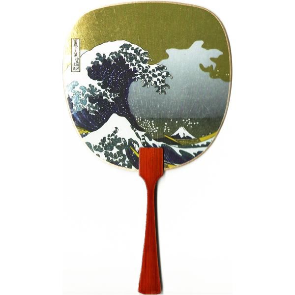 12186 hokusai the great wave off kanagawa fan card
