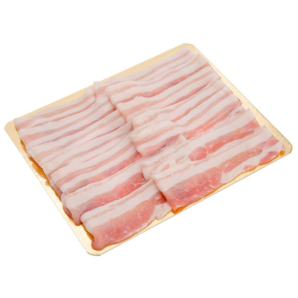 12614 sliced pork belly for shabu shabu