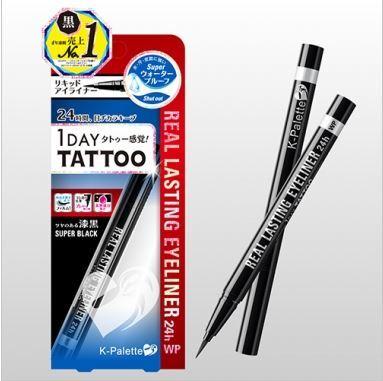 12732 kpalette 24h real lasting liquid eyeliner super black