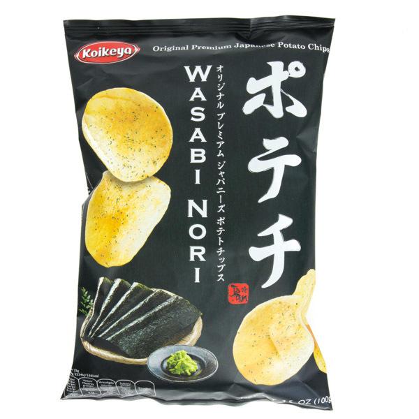 12847 koikeya wasabi nori seaweed crisps