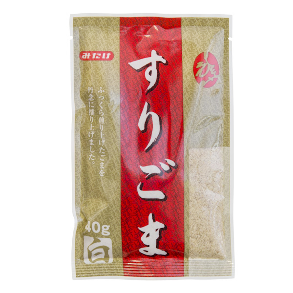 1490 mitake crushed roasted white sesame seeds