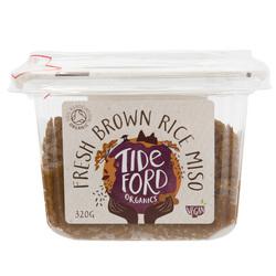 12983 tideford organics fresh brown rice miso side