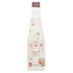5400 ozeki hana fuga peach sparkling sake