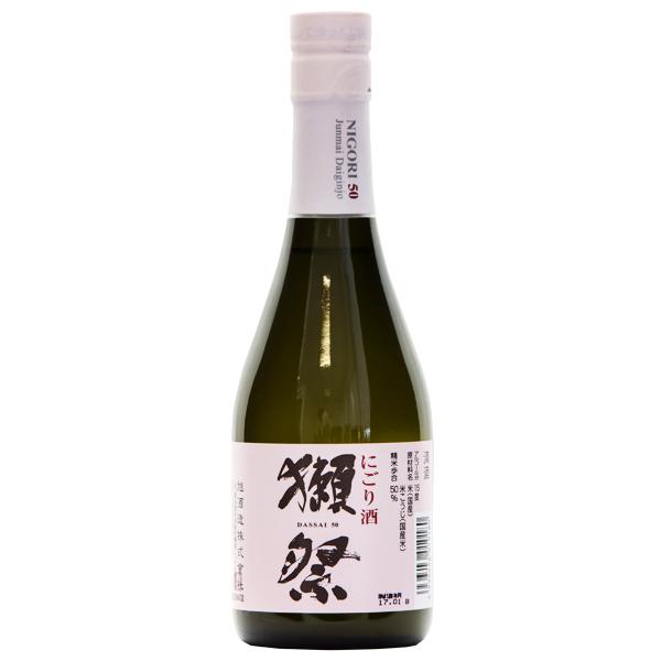 Asahi Shuzo Dassai 50 Junmai Daiginjo Nigori Sake, 300 ml