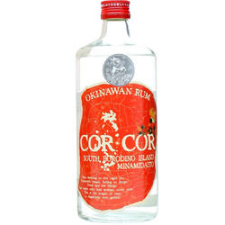 Cor cor okinawan rum red label