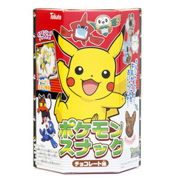 13035 tohato pokemon chocolate flavoured corn puffs