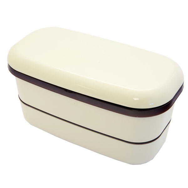 6339 bento lunch box beige 1