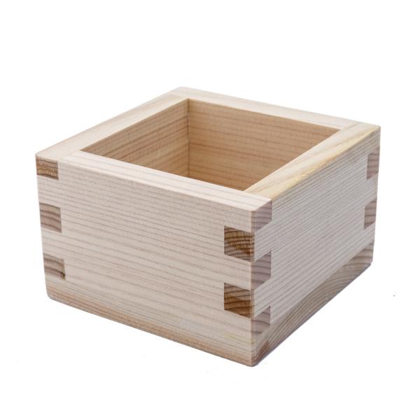 13180 hinoki cedar wooden masu cup natural