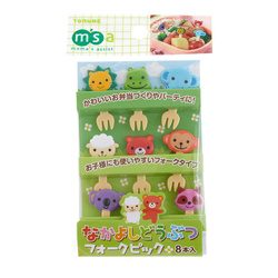 13317 cute animal bento picks