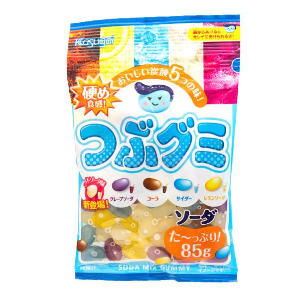 13416 kasugai tsubugumi mixed soda gummy candy