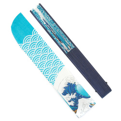 13546 fan  great wave  furled with case