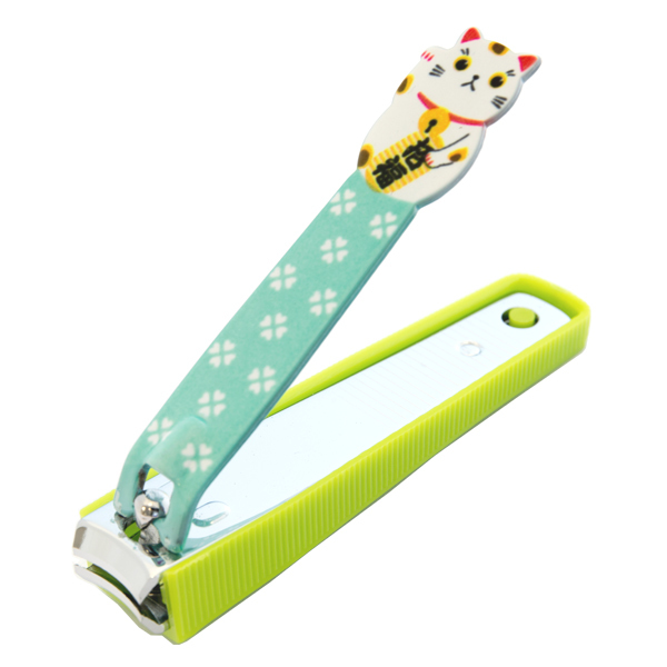 13502 maneki neko lucky cat nail clippers