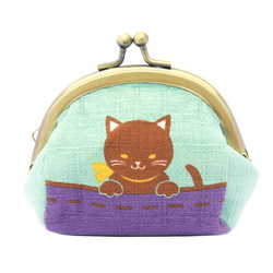 13551 mini cat coin purse  2