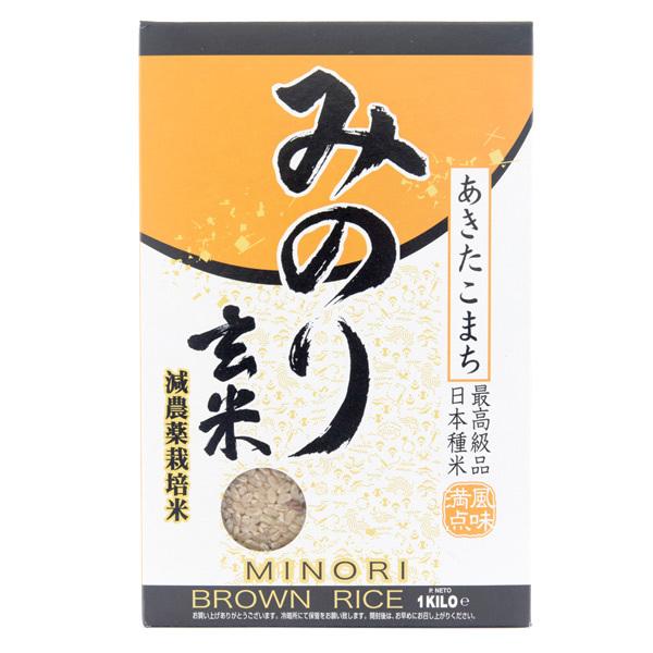 13574 okura minori akitakomachi brown rice