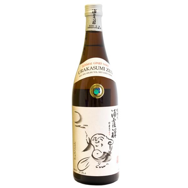 13601 urakasumi zen junmai ginjo sake