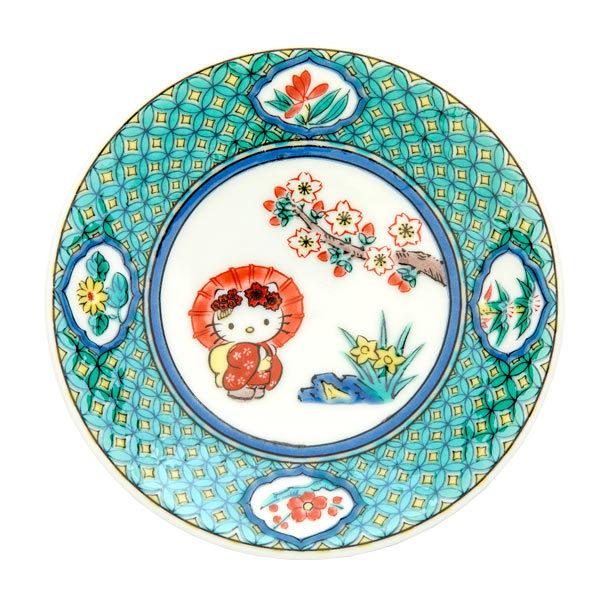 13583 hk kutani ceramic plate