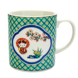 13585 hk kutani ceramic mug