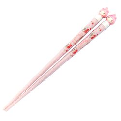 13612 my melody chopsticks with figurine