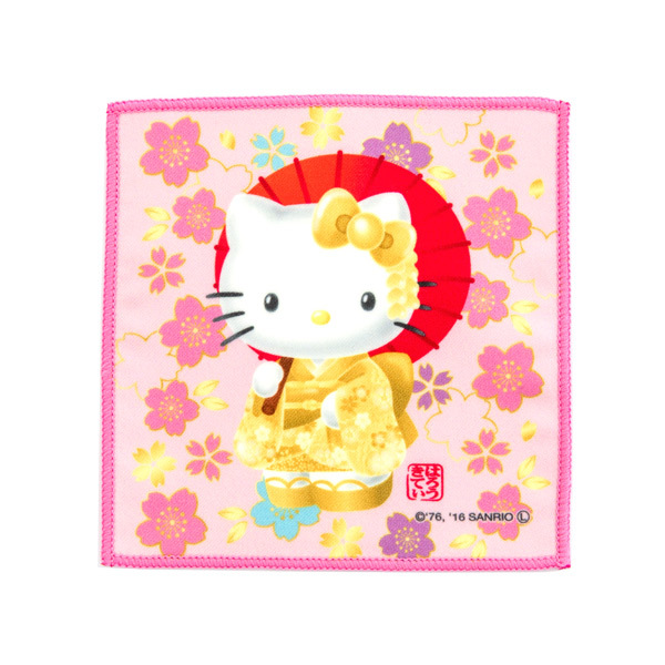 13617 sanrio hk fabric coaster