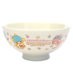 13624 sanrio little twin stars creamic rice bowl