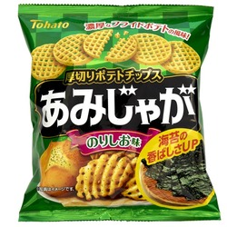 12636 tohato amijaga nori seaweed and salt snack