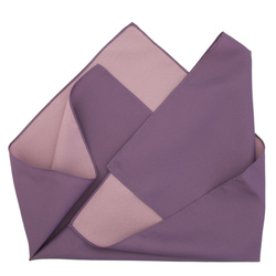 13669 furoshiki cloth   double sided  purple and cherry blossom pink