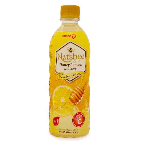 13692 pokka natsbee honey lemon juice drink