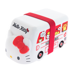 13772 sanrio hello kitty bento bus lunchbox