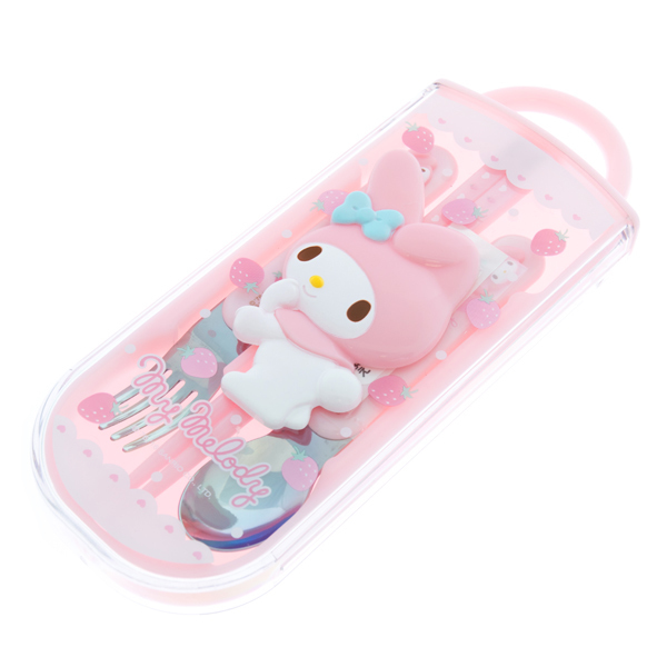 13779 my melody cutlery set