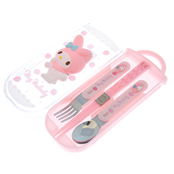 13779  my melody cutlery set 2