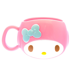 13782 sanrio my melody head shaped mug
