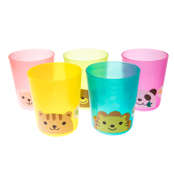 13802 animal party plastic cup set